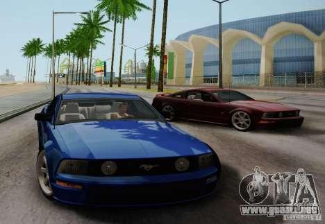 Ford Mustang Twin Turbo para la visión correcta GTA San Andreas