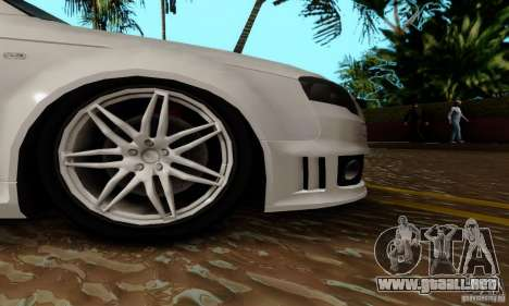 Audi RS4 2007 para la vista superior GTA San Andreas