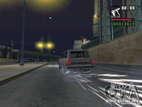 New Realistic Effects para GTA San Andreas octavo de pantalla