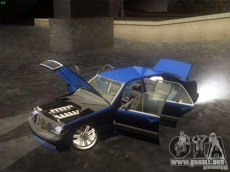 Mercedes-Benz S600 para la visión correcta GTA San Andreas