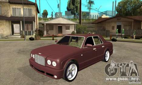 Bentley Arnage GT para GTA San Andreas