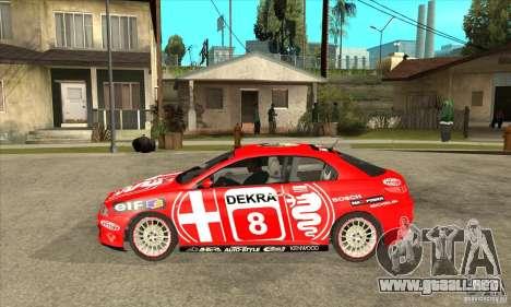 Alfa Romeo GT para GTA San Andreas left