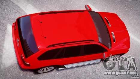 BMW X5 E53 v1.3 para GTA 4 vista lateral