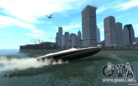 New Jetmax para GTA 4 Vista posterior izquierda