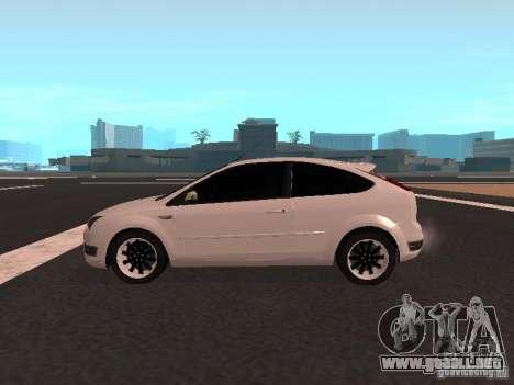 Ford Focus II para GTA San Andreas left