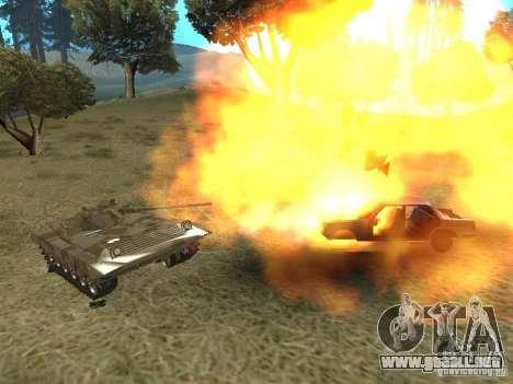 BMP-2 de CGS para la visión correcta GTA San Andreas