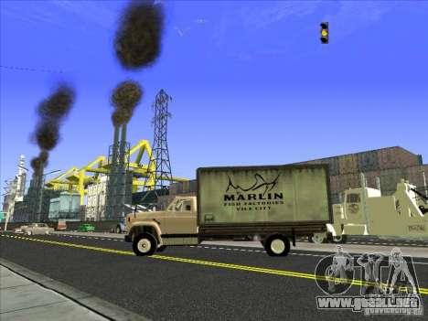 Yankee basado en GMC para vista lateral GTA San Andreas