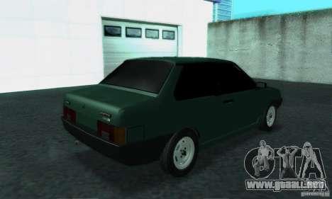 VAZ 21099 Coupe para la visión correcta GTA San Andreas