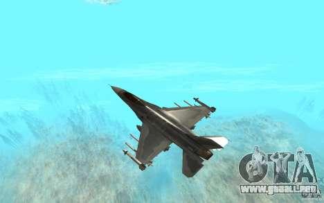 Mitsubishi F-2 para la visión correcta GTA San Andreas
