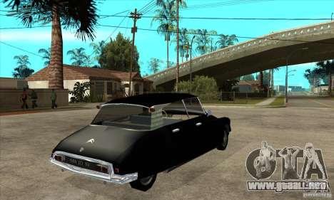Citroen ID 19 para la visión correcta GTA San Andreas