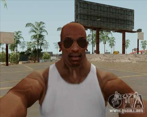 Brown anteojos aviadores para GTA San Andreas tercera pantalla