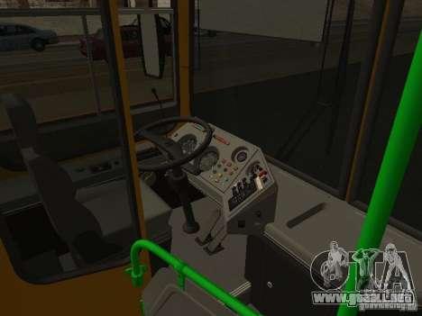 LIAZ 5256.26-01 para visión interna GTA San Andreas