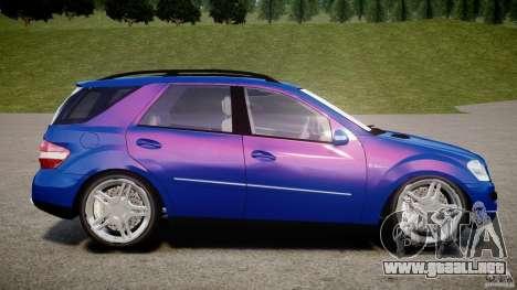 Mercedes-Benz ML63 AMG para GTA 4 left
