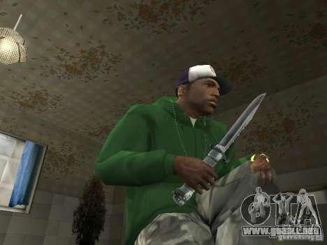 Pak domésticos armas V2 para GTA San Andreas séptima pantalla