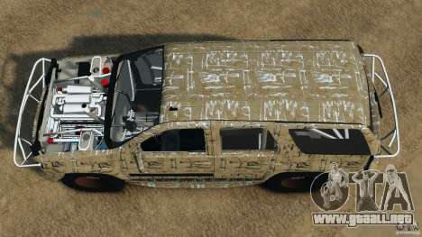 Chevrolet Tahoe 2007 GMT900 korch para GTA 4 visión correcta