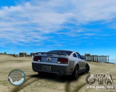 Ford Mustang GT 2005 v1.2 para GTA 4 left