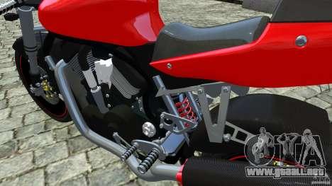 Suzuki Street Fighter Custom para GTA 4 visión correcta