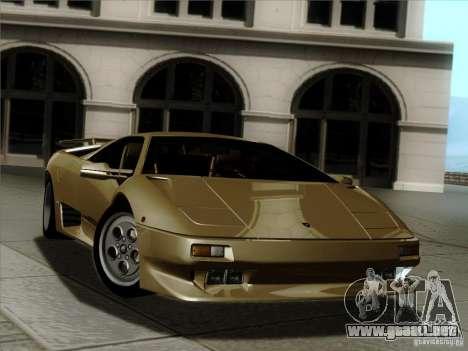 Lamborghini Diablo VT 1995 V3.0 para el motor de GTA San Andreas