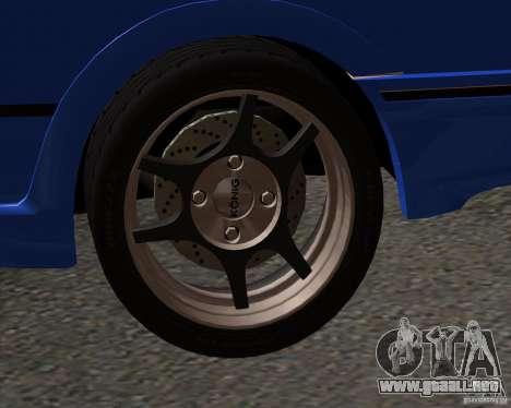 Z-s wheel pack para GTA San Andreas segunda pantalla