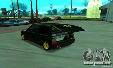 Oka VAZ 1111 para GTA San Andreas left