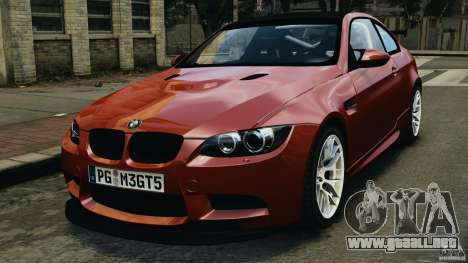 BMW M3 GTS 2010 para GTA 4