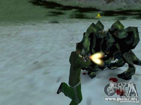 Monstruos submarinos para GTA San Andreas sexta pantalla