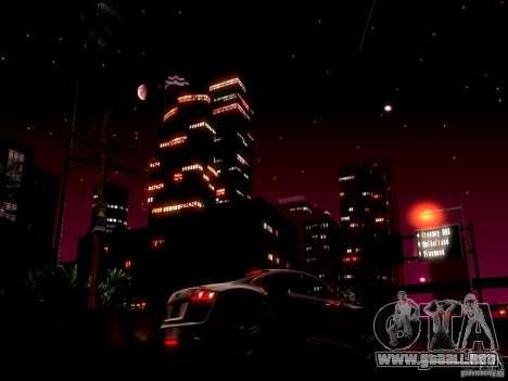 Cielo estrellado V 2.0 (un jugador) para GTA San Andreas segunda pantalla