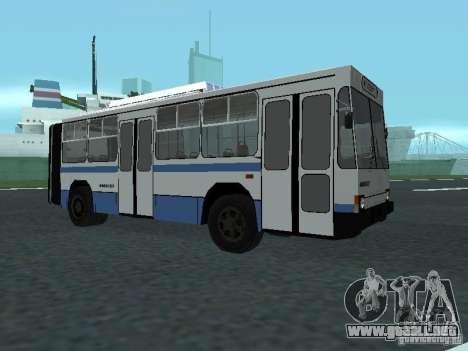 YUMZ T1 para GTA San Andreas left