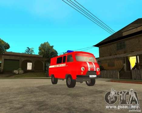Bomberos UAZ para GTA San Andreas