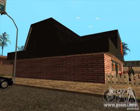 Pizzeria nueva en IdelWood para GTA San Andreas tercera pantalla