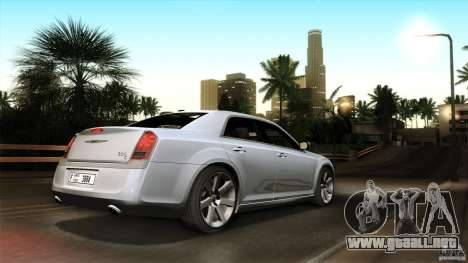 Chrysler 300C V8 Hemi Sedan 2011 para vista inferior GTA San Andreas