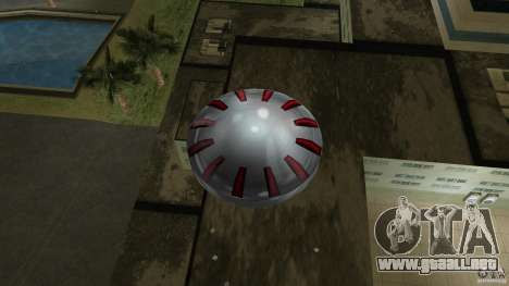 Ultimate Flying Object para GTA Vice City vista posterior