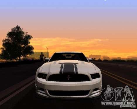 Real World ENBSeries v4.0 para GTA San Andreas segunda pantalla