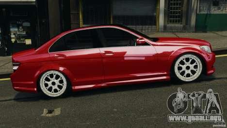 Mercedes-Benz C350 Avantgarde v2.0 para GTA 4 left