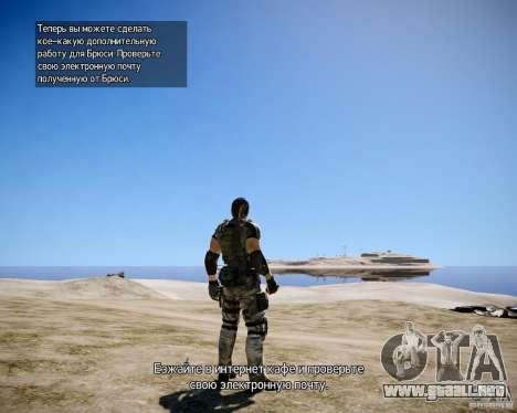 Chris from Resident Evil 5 para GTA 4 séptima pantalla