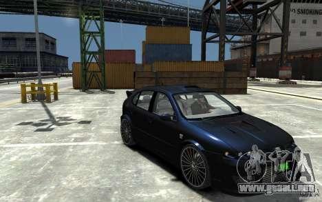 Seat Leon Cupra R para GTA 4 vista hacia atrás
