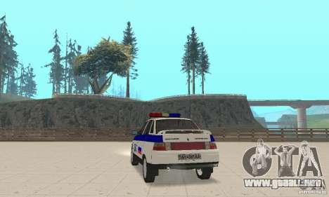 VAZ 2110 DPS para GTA San Andreas left