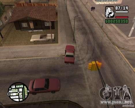 Cámara como en GTA Chinatown Wars para GTA San Andreas novena de pantalla