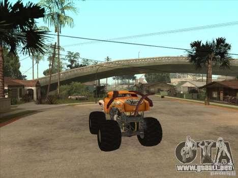 Monster Mutt para GTA San Andreas vista posterior izquierda