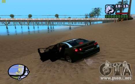 ENBSeries by VadimSpiridonov para GTA San Andreas sexta pantalla