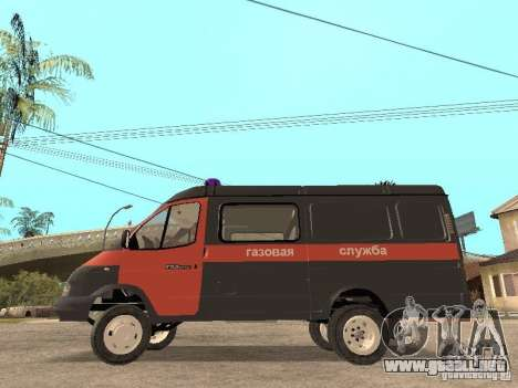 Servicio de gas gacela 2705 para GTA San Andreas