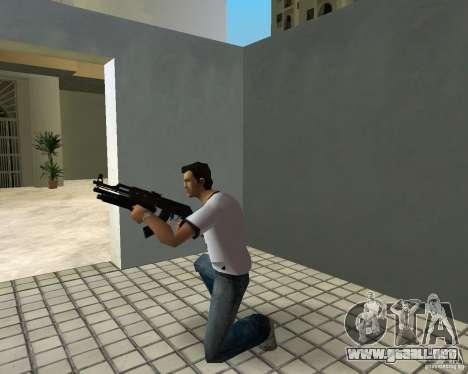 AK-47 con escopeta Underbarrel para GTA Vice City sexta pantalla