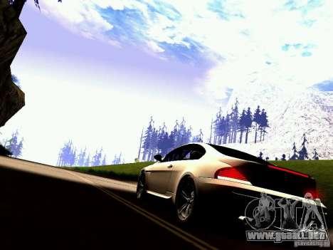 BMW M6 MotoGP SafetyCar para la visión correcta GTA San Andreas
