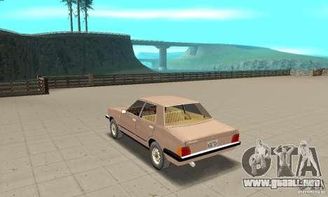Ford Taunus 1978 para GTA San Andreas vista posterior izquierda