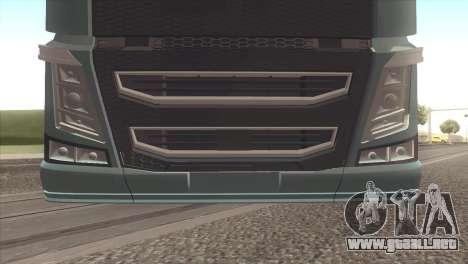 Volvo FH 2013 para la visión correcta GTA San Andreas