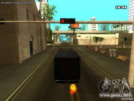 ENB para ordenadores portátiles para GTA San Andreas tercera pantalla