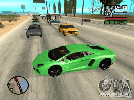 Automobile Traffic Fix v0.1 para GTA San Andreas tercera pantalla