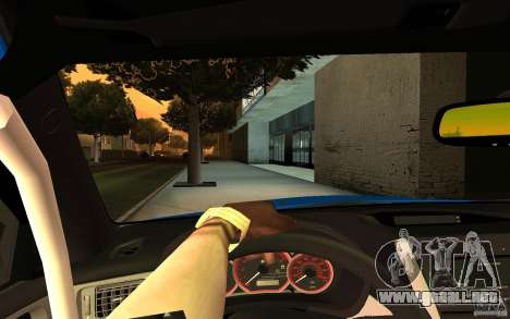 Subaru Impreza WRX STI 2008 Tunable para la visión correcta GTA San Andreas