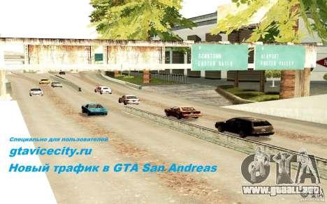 Un nuevo algoritmo para tráfico de vehículos para GTA San Andreas