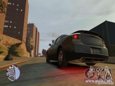 Dodge Charger SRT8 2007 FBI para GTA 4 left